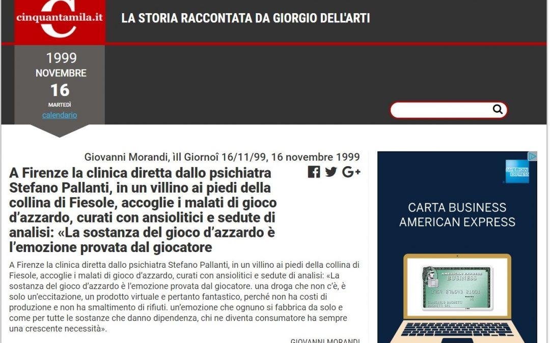 Il Prof. Stefano Pallanti e Disturbo da Gioco d'Azzardo: Più di 20 anni di ricerca e cura