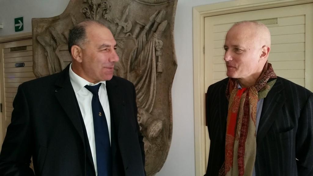 Il Campione olimpico Sig. Giuseppe Abbagnale e Prof. Stefano Pallanti