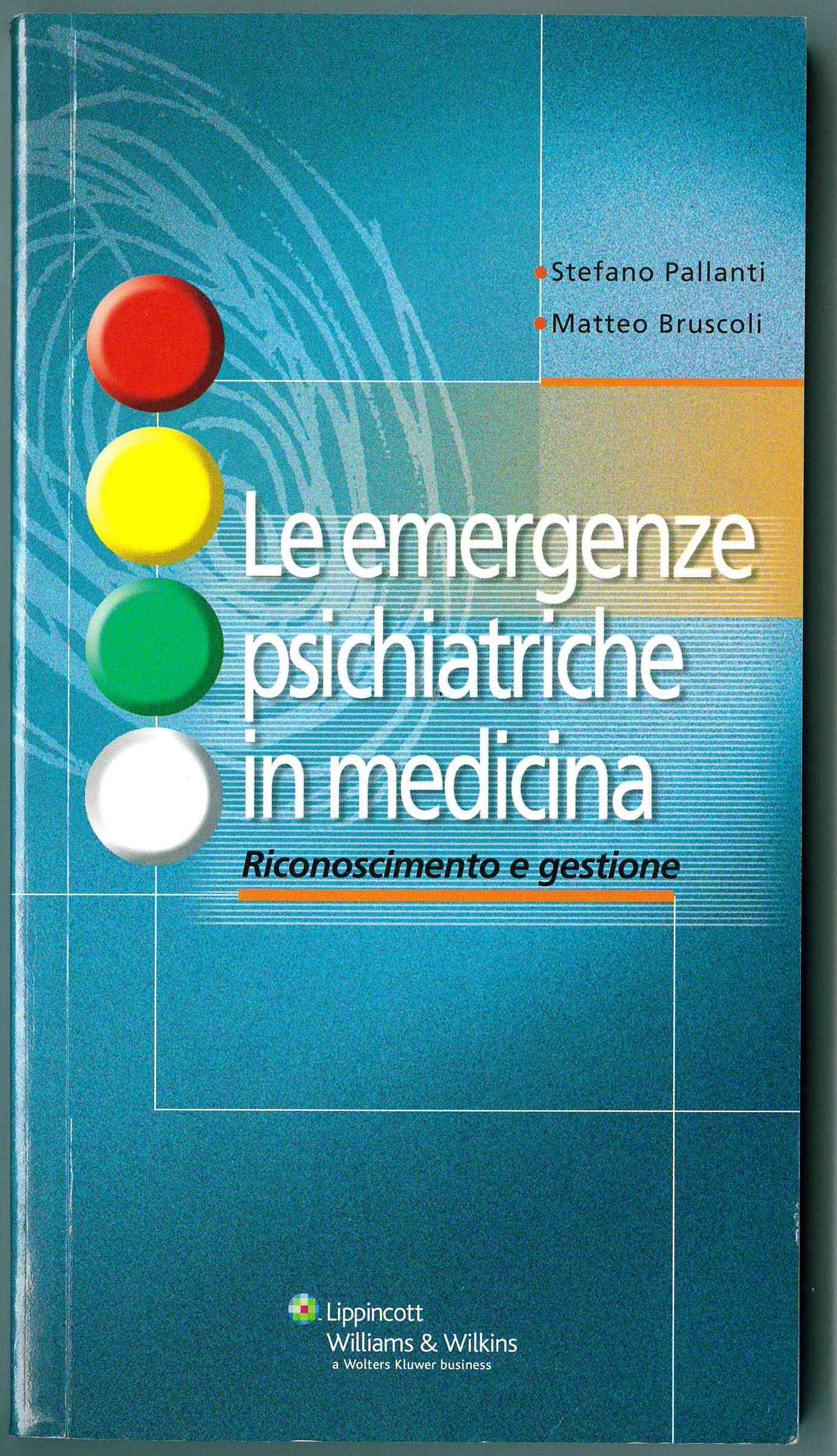 Le emergenze psichiatriche in medicina