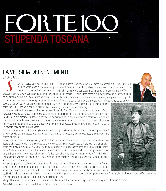 La Versilia dei Sentimenti – Forte100 (N. 1 – Estate 2014)