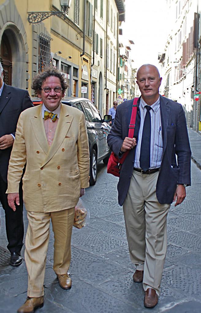 Philippe Daverio e Stefano Pallanti