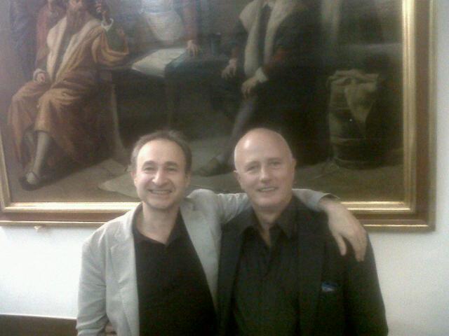 Prof. Jim van Os and Prof. Stefano Pallanti