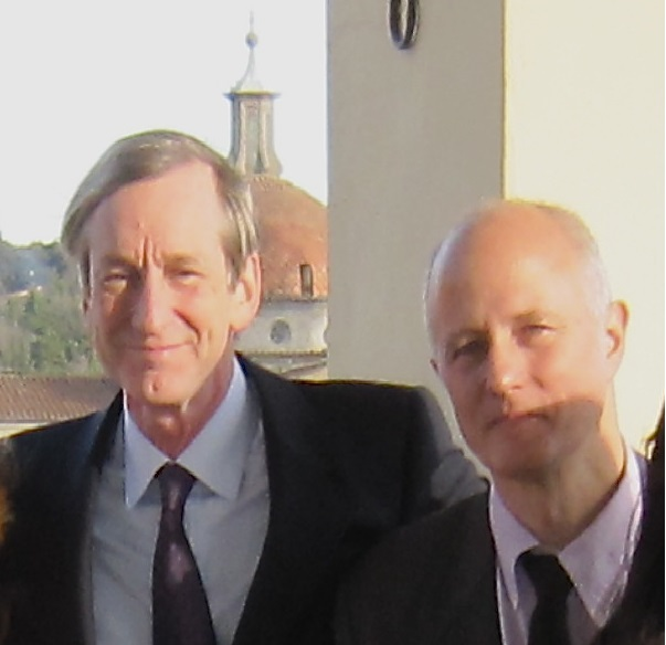 Prof. Robert Hales and Prof. Stefano Pallanti