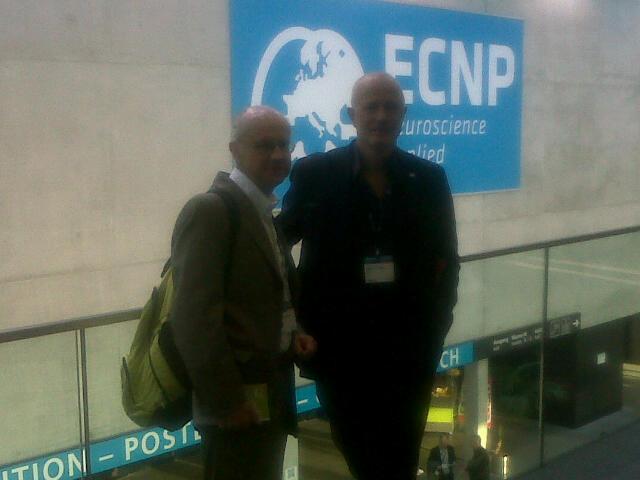 Prof. Stefano Pallanti and Prof. Benedetto Vitiello