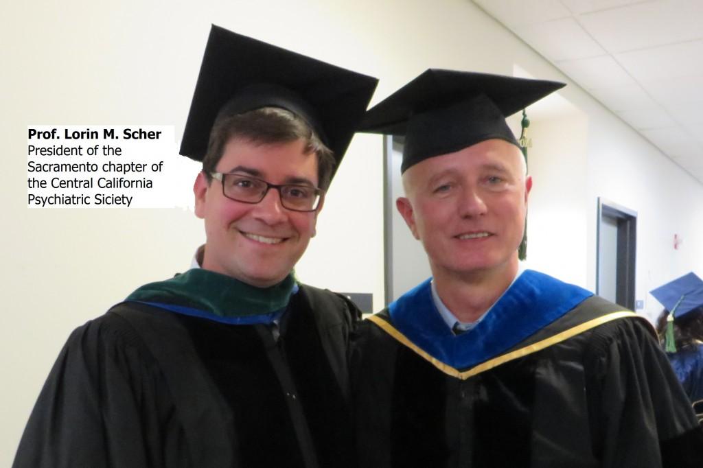Prof. Stefano Pallanti and Prof.Lorin M. Sher