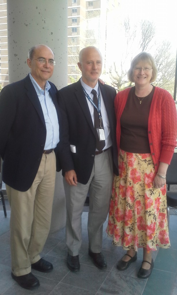 Prof. Stefano Pallanti con Prof.ssa Susan Swedo (NIMH) e Prof. James F Lechman (Yale Univ.) all' ICOCS meeting (International College of Obsessive Compulsive Spectrum Disorders), May 7, 2014 New York