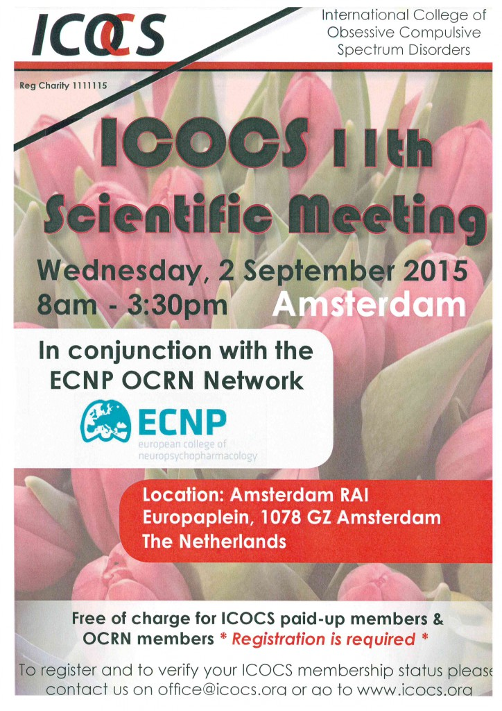 ICOCS 11th Scientific Meeting - 2 September 2015 (http://www.icocs.org)