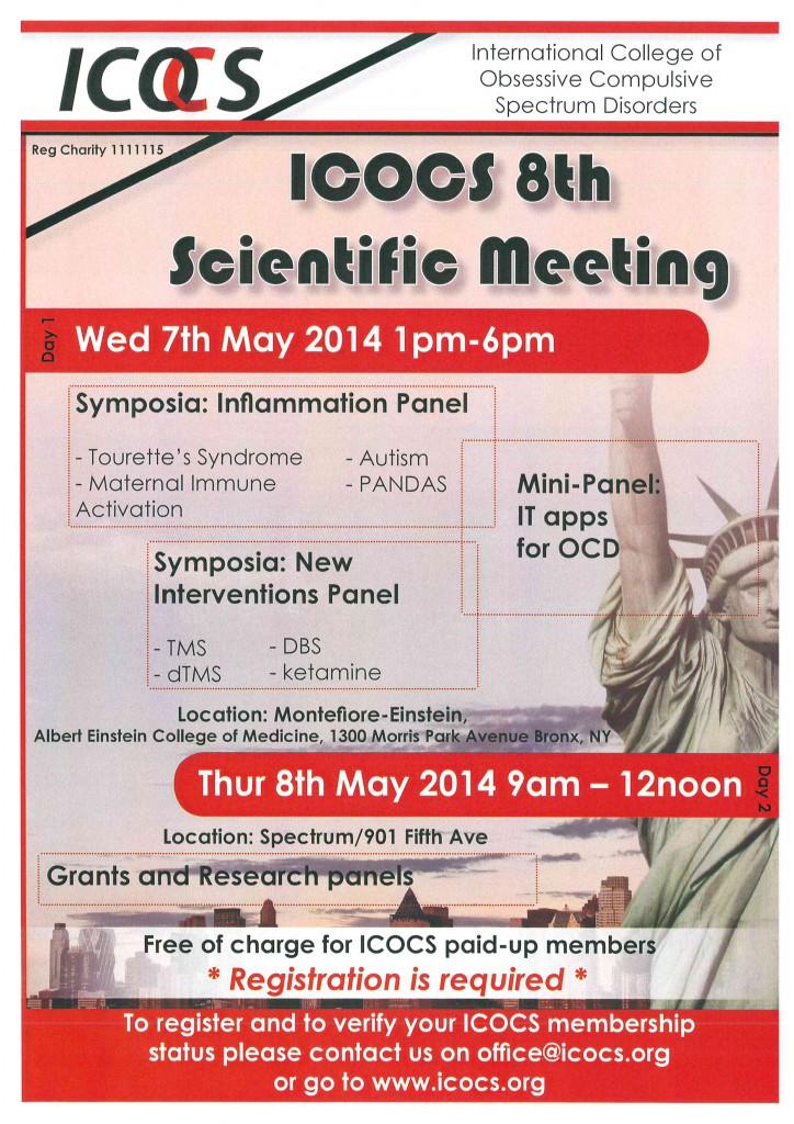 ICOCS VIII Meeting Scientifico